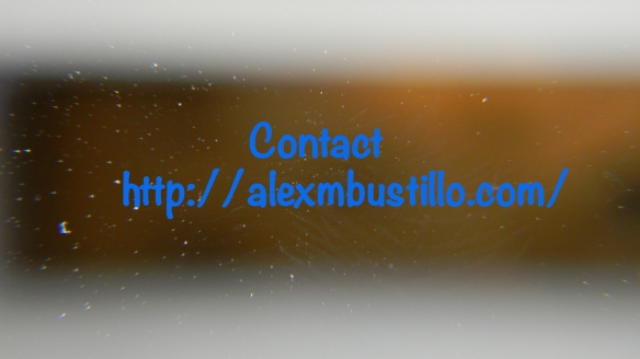 Contact  https://alexmbustillo.com/