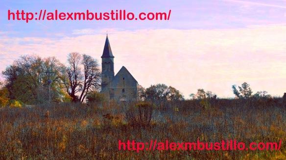 Portrait: Eglise et cimetière, Le Coudray-Montceaux, France