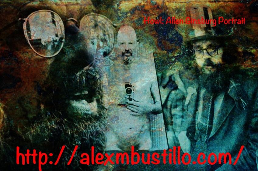 Howl: Allen Ginsburg Portrait