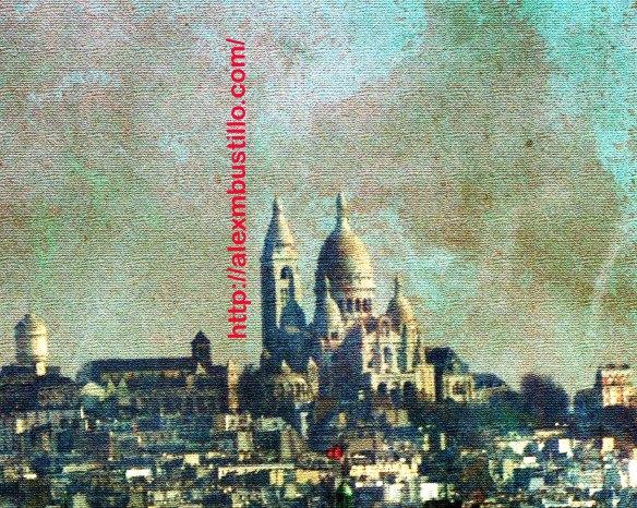 Portrait de La Basilique du Sacré Cœur de Montmartre, Paris, France