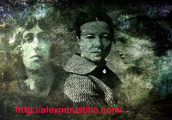Portrait: Vita Sackville-West, Virginia Woolf, Simone de Beauvoir