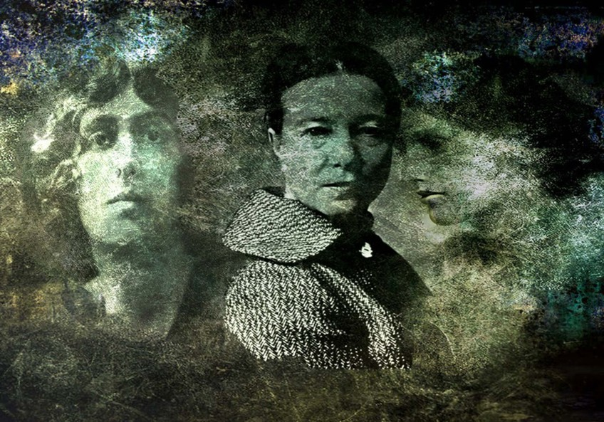 Portrait: Vita Sackville-West, Virginia Woolf, Simone de Beauvoir