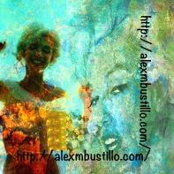 Marilyn Monroe in the Night Sky