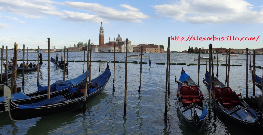 The Grand Canal, Venice, Italy, Easter 2014