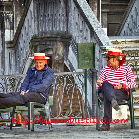 The Gondoliers, Venice, Easter 2014