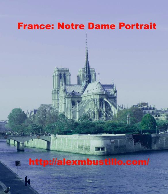 France: Notre Dame Portrait
