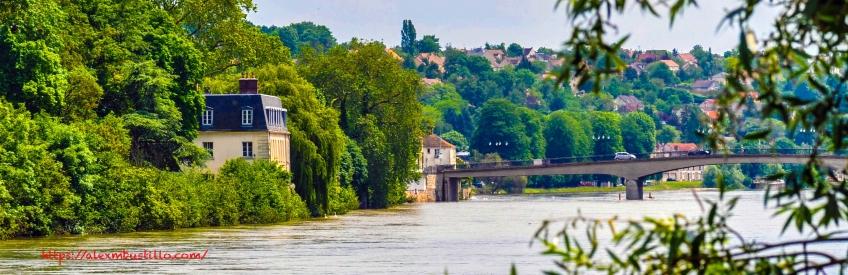 Le Seine à Corbeil-Essonnes