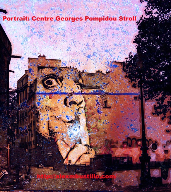 Portrait: Centre Georges Pompidou Stroll, Paris