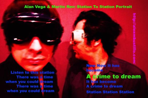 Alan Vega & Martin Rev: Station Station Suicide Portrait