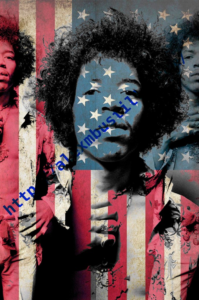 Jimi Hendrix: Star-Spangled https://www.youtube.com/watch?v=TKAwPA14Ni4
