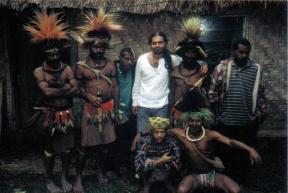 Michael Limnios in Papua New Guinea