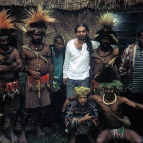 Michael Limnios in Papua New Guinea