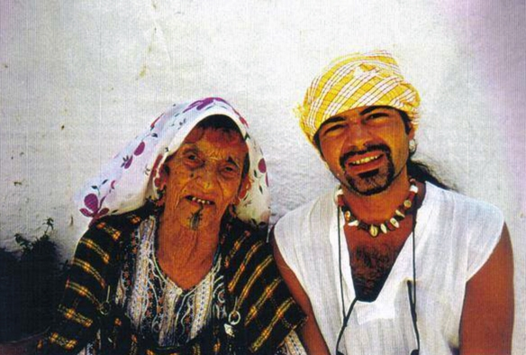 Michael Limnios in Sahara