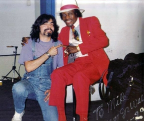 Michael Limnios with Junior Wells