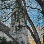 Fragment, l'Eglise Saint Etienne, Le Coudray-Montceaux, France