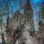 l'Eglise Saint Etienne, Le Coudray-Montceaux, France