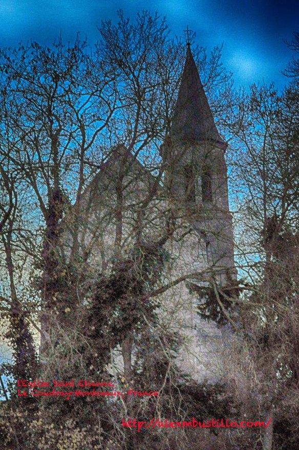 l'Eglise Saint Etienne,  Le Coudray-Montceaux, France@