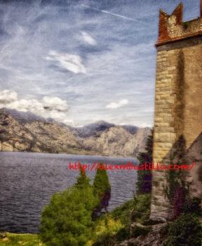 Malcesine sul lago di Garda