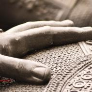 La mano sullo scudo. Municipio, Torino, Italia