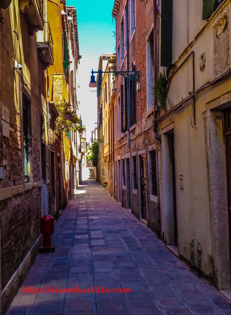 Strolling in Venice