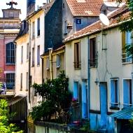 Devant l'ancien Grands Moulins, blv Crete, Corbeil-Essonnes