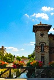 L'Essonne at Rue Feray, Corbeil-Essonnes FRANCE