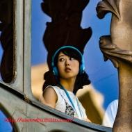 Casa Batlló Gaudi Portrait, Barcelona, España