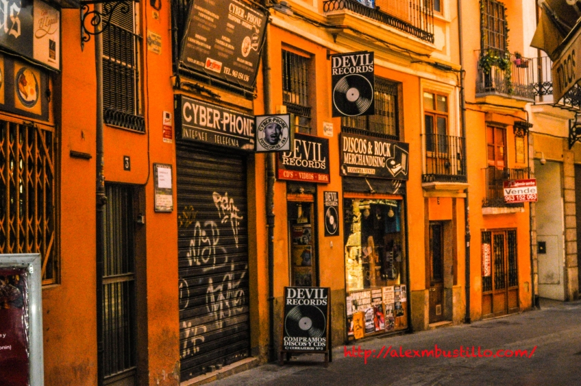 Devil Records, Valencia, España https://www.facebook.com/devilrecords/