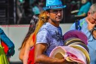 Street Vendor, Barcelona, España