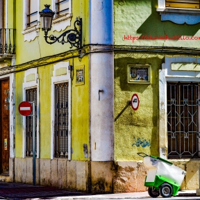 Streetcorner, Sueca, Valencia