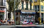 Bench, La Rambla, Barcelona, España