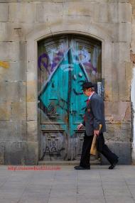 Portrait: Barcelona Walking From La Rambla
