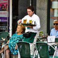 Portrait: Café Valladolid, España