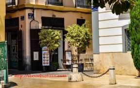 Calle Del Conde de Almodovar, Valencia, España