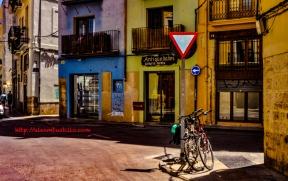 Neon Streets of Valencia, España