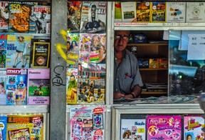 Newstand, Sueca, Valencia, Spain
