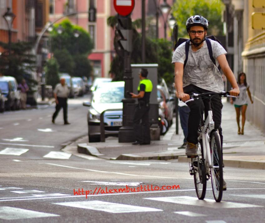 Racing In The Valladolid Streets, España