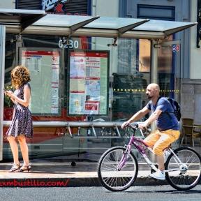 Bus Stop, Valencia, España