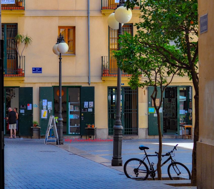 Plaza del Miracle del Mocadoret, Valencia, España