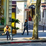 Blv Malesherbes at Rue Boissy D' Anglas, Paris, France
