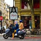 Jesus & Captain America, blv Malesherbes, Paris