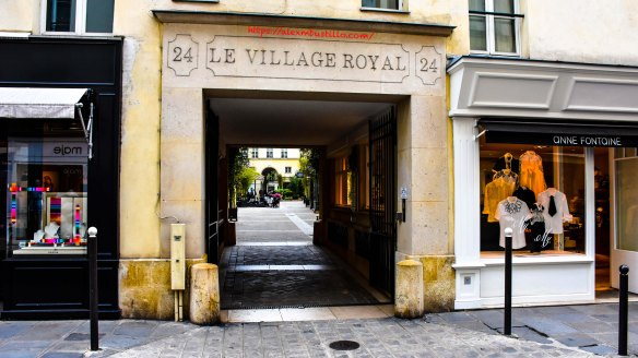 Le Village Royal, Rue Boissy d'Anglas, Paris, France