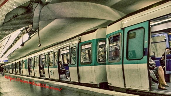 Paris RATP Metro Station