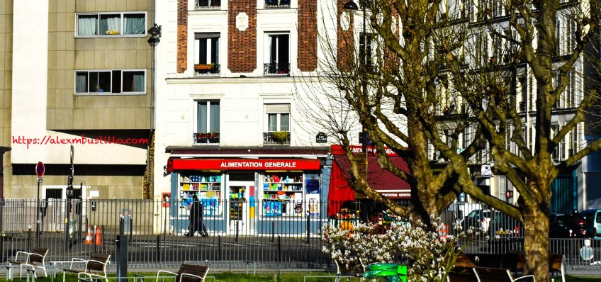 Rue Boinod at Rue des Poissonniers, Paris, France