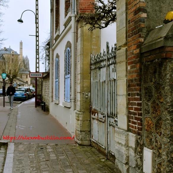 Avenue du Président Franklin Roosevelt Sceaux, Paris, Île-de-France, France