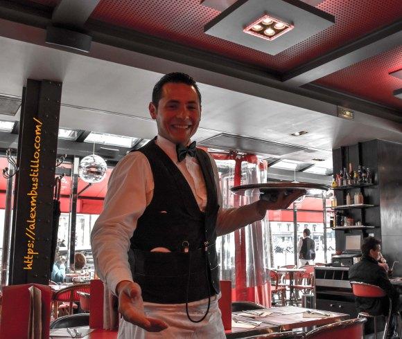 Xavier, Café Madeleine, 1 Rue Tronchet, 75008 Paris, France
