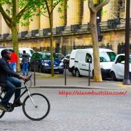 Crossing Boulevard De La Madeleine, Paris, France