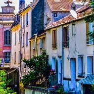 Devant l'ancien Grands Moulins, blv Crete, Corbeil-Essonnes, France