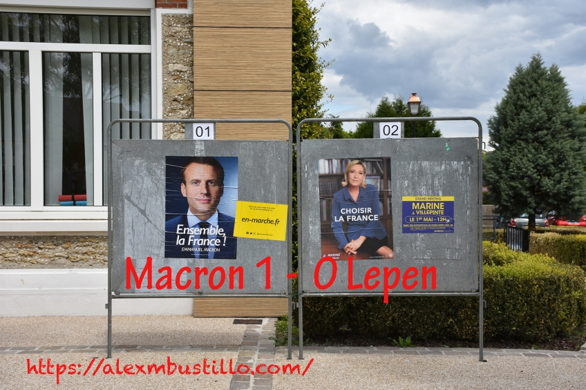Macron 1 - 0 Lepen #Débat #Macron #Macron2017 en-marche.fr #LePenNon