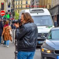 Photographing The Photographer Boulevard de la Madeleine, 75009 Paris, France